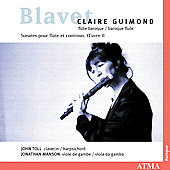 Blavet: Flute Sonatas / Guimond, Toll, Manson