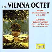 Mozart: Divertimento no 17;  Schubert: Quintet /Vienna Octet