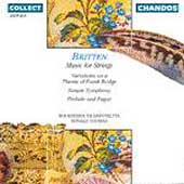 Britten: Music for Strings / Thomas, Bournemouth Sinf
