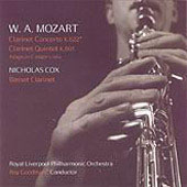 Mozart: Works for Basset Clarinet / Cox, Goodman, et al