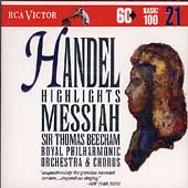 Basic 100 Vol 21 - Handel: Messiah Highlights / Beecham