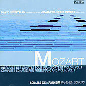 Mozart: Complete Sonatas for Fortepiano and Violin Vol 1
