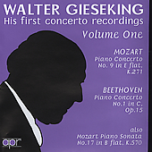 Walter Gieseking - His first concerto recordings Vol 1