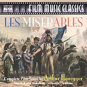 Film Music Classics - Honegger: Les Mis&eacute;rables