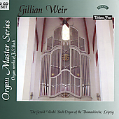 Organ Master Series Vol 4 - J.S Bach / Gillian Weir
