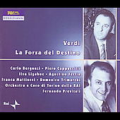 Verdi: La forza del destino / Previtali, Bergonzi, et al
