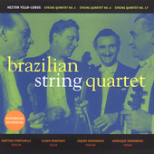 Villa-Lobos Historical Recordings / Brazilian String Quartet