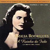 Amália Rodrigues: A Rainha Do Fado, Vol. 2: 1951-52