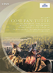 Mozart: Così Fan Tutte / Gardiner/Monteverdi Choir, English Baroque Soloists [2 DVD]