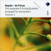 Haydn: Complete 9 String Quartets Arranged For Two Guitars V.1