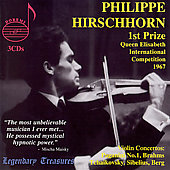 Legendary Treasures - Philippe Hirschhorn - Violin Concertos