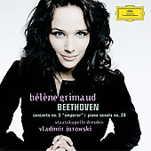 Beethoven: Piano Concerto no 5, Sonata no 28 / Grimaud