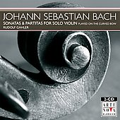 Bach: Sonatas & Partitas for Solo Violin / Gähler