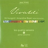 Vivaldi: Les quatre saison & autres concertos / Beyer, Gli Incogniti