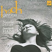 Bach: Cantatas / Natalie Dessay, Emmanuelle Ha&iuml;m, Le Concert d'Astr&eacute;e