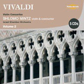 Vivaldi: Violin Concertos & String Symphonies Vol 2 / Mintz, et al