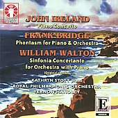 Epoch - Ireland: Piano Concerto;  Walton: Sinfonia Concertante for Piano, etc / Handley, Stott, et al