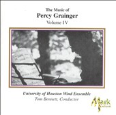 The Music of Percy Grainger, Vol. 4
