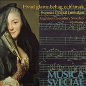 Eighteenth Century Sweden In Music