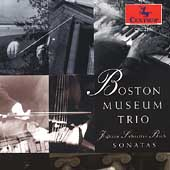 Bach: Sonatas / Boston Museum Trio