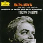 Grazyna Bacewicz: Piano Sonata & Piano Quintets / Zimerman
