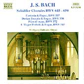 Bach: Sch&uuml;bler Chorales / Wolfgang R&uuml;bsam