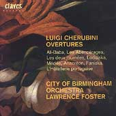 Cherubini: Overtures / Foster, City of Birmingham Symphony