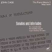 John Cage Edition - The Piano Works 2 / Vandré