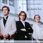 Saint-Sa&#235;ns, Loevendie, Ravel: Piano Trios / Van Baerle Trio