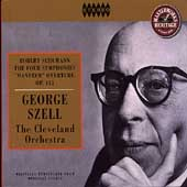 HERITAGE  Schumann: The Four Symphonies / Szell, Cleveland