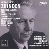 Zbinden: Concerto for Orchestra, etc / Jordan, Lausanne CO