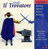 Verdi: Il Trovatore (Highlights) [Regis Records]