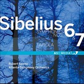 Sibelius: Symphonies Nos. 6 & 7; Tapiola / Atlants SO, Spano