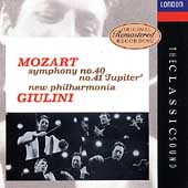 The Classic Sound - Mozart: Symphonies no 40, 41 / Giulini