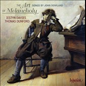 The Art of Melancholy - Songs by John Dowland / Iestyn Davies (countertenor), Thomas Dunford (lute)