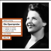 Albert Lortzing: Die Opernprobe, opera / Grand Vienna Radio SO; Kurt Richter