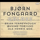 Bjørn Fongaard (1919- '80): 'Galaxe,' for 1/4 Tone Guitar; Works of Ferneyhough, Torvund & Moe / Anders Førisdal, quarter-tone guitar