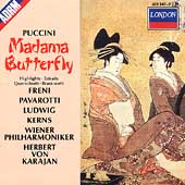 Puccini: Madama Butterfly - Highlights / Karajan, Freni