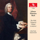 J.S. Bach: The Well-Tempered Clavier / John Paul, lautenwerck