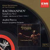 Rachmaninov: Symphony no 2, Vocalise, etc /André Previn, LSO