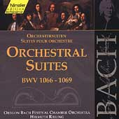 Edition Bachakademie Vol 132 - Orchestral Suites / Rilling