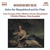 Boismortier: Suites for Harpsichord and for Flute / Savignat