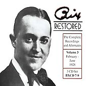 Bix Beiderbecke: Bix Restored, Vol. 3 [Box]