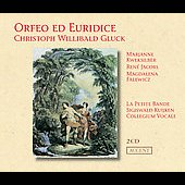Gluck: Orfeo ed Euridice / Kuijken, Kweksilber, Jacobs