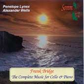 Bridge: The Complete Music for Cello & Piano / Lynex, Wells