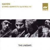 Haydn: String Quartets Op 50 no 4-6 / The Lindsays