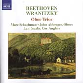 Beethoven, Wranitzky: Oboe Trios / Schachman, Spahr, et al