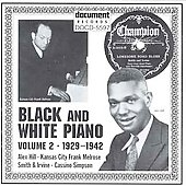 Various Artists: Black & White Piano, Vol. 2 (1929-1942)