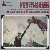 Dance Music from Russia / Svetlanov, USSR Symphony Orchestra