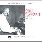 Gene Harris: Live at Maybeck Recital Hall, Vol. 23